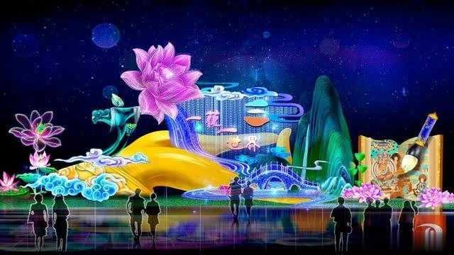 敦煌2020年春节文化灯展制作忙(图)